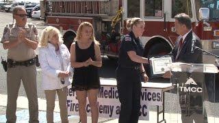 TMCC EMS Student Receives Lifesaving Award