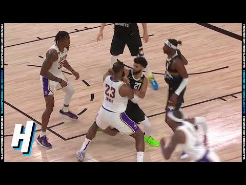 Jamal Murray ELBOWS LeBron James – Game 3 | Lakers vs Nuggets | September 22, 2020 NBA Playoffs