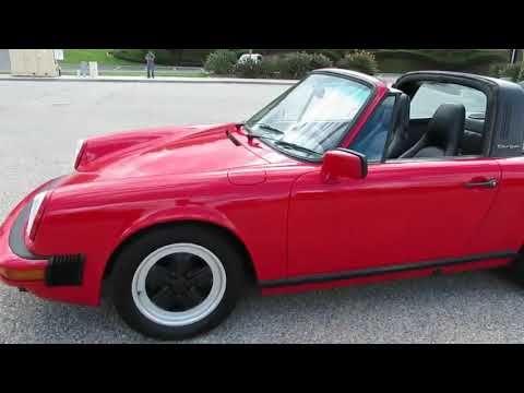 Video of '87 Carrera - PLZ2