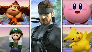 Super Smash Bros Brawl: Solid Snake's Codec For All Characters {Taunt Easter Egg} (High Quality) - dooclip.me