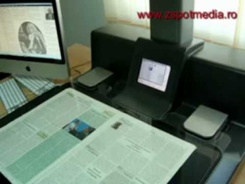 Scanner de carte Copibook in Romania
