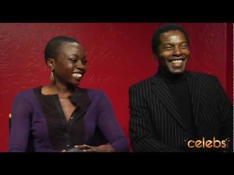 Danai Gurira and Isaach de Bankole talk 'Mother of George' - a Celebs.com Original Interview