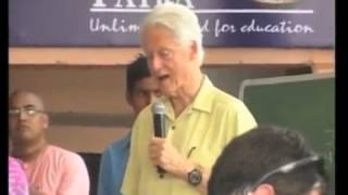 Bill Clinton wowed by Akshaya Patra's efforts