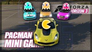 Forza Horizon 3 - Playing Pac-Man! (Mini Games & Funny Moments)