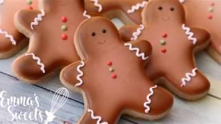 Gingerbread Man Cookies By Emmas Sweets