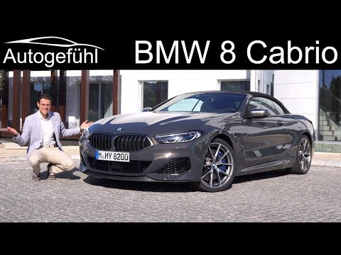 External Review Video Tw_U55BQgMM for BMW 8 Series Convertible (G14)