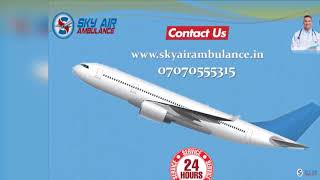 Book Immediately Air Ambulance Service in Coimbatore with Quick Shifting