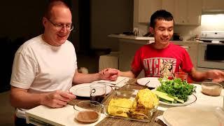 Cho Anh Rob Ăn Bánh Xèo Với Mắm Nêm và Cái Kết ?| Long Tran USA