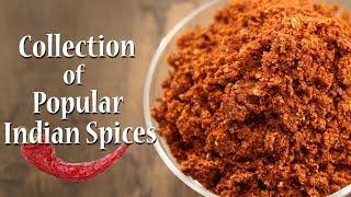 10 Easy To Make Indian Spices | Homemade Masala | Ruchkar Mejwani | Recipes By Archana In Marathi