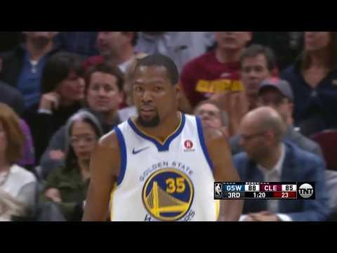 Warriors' Kevin Durant Drops 32pts, 5rebs, 8asts, 3stls vs. Cavaliers