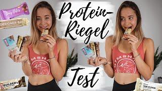 Ich teste 20+ PROTEINRIEGEL (Vegan, Supermarkt,..) // annrahel