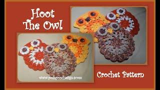 Hoot The Owl Crochet Pattern