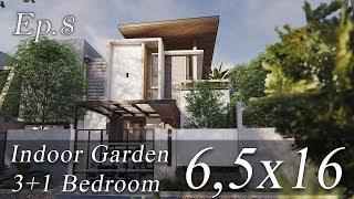 Desain Rumah Modern Bernuansa Rustic
