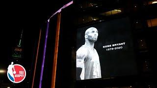 Madison Square Garden pays tribute throughout the game to Kobe Bryant | NBA on ESPN