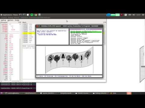 How to print from vDosPlus (or vDos / DOSBox) - смотреть онлайн на