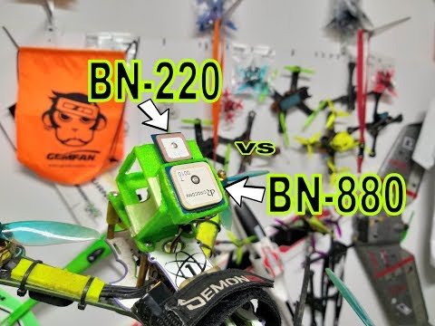 BN220 Vs BN880 - FLIGHT TEST COMPARISON