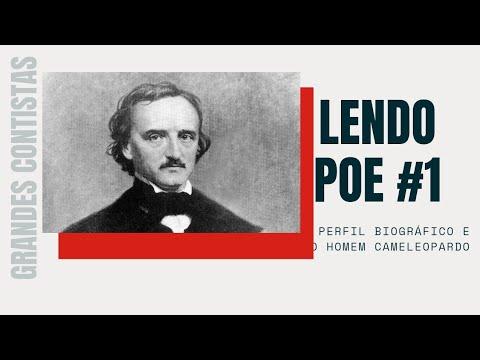 Lendo Poe #1: Perfil biográfico e conto o Homem Cameleopardo