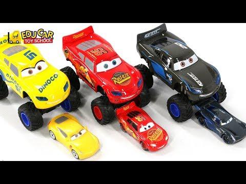 Learning Color Special Monster Disney Pixar Cars Lightning McQueen Mack Truck Play for kids car toys