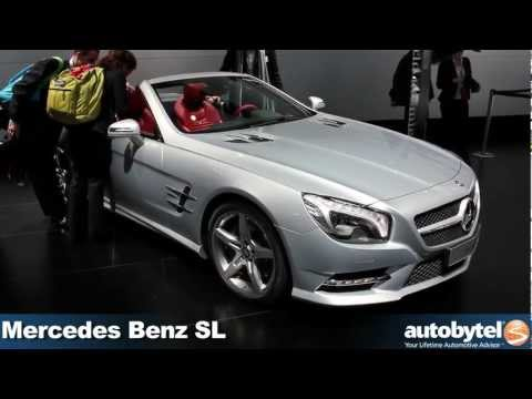 Mercedes Benz SL at the 2012 Detroit Auto Show - Video
