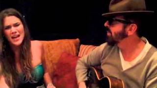 """Dave Stewart and Joss Stone Writing """"I Don't Want To Be Your Landlord Anymore"""""""