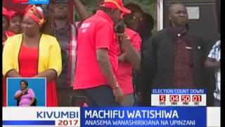 Rais Uhuru Kenyatta atishia kuwaadhibu machifu wanaoshirikiana na muungano wa upinzani