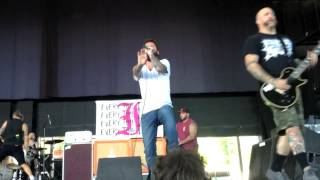 Every Time I Die  No Son of Mine Live Virginia Beach Warped Tour