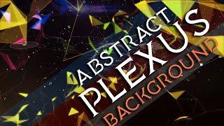 Abstract Plexus background videos | Plexus Motion graphics background | plexus after effects plugin