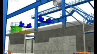 Animación 3D Horno Anódico N°1