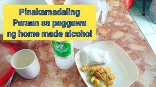 Easy Tips Sa Paggawa Ng Home Made Alcohol   Herbal   Halamang Gamot
