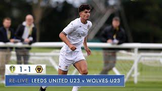 LIVE: Leeds United U23 v Wolves U23: Premier League Cup