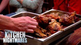 """""""I've Never Seen So Much Waste In My Entire Life""""   Kitchen Nightmares"""