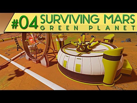 Surviving Mars GREEN PLANET DLC GRÜNE FUSION Deutsch German