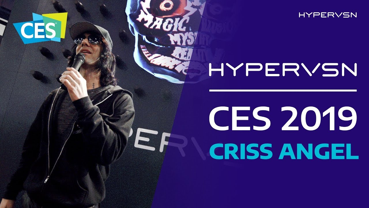 HYPERVSN and Criss Angel at CES 2019