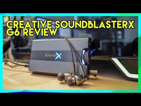 Creative Sound BlasterX G6 (USB)