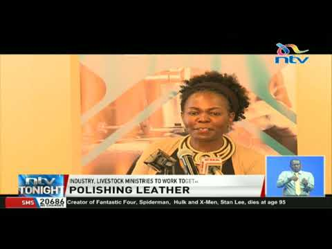 Kenya earned Ksh.1.5B in exports of leather products