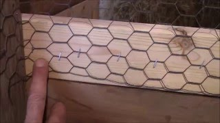 How To Hang Chicken Wire