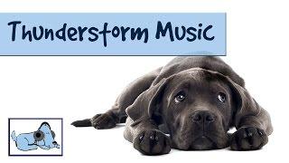 Thunderstorm Music! Calm your Dog During Thunder and Lightning - Stop Dog Shaking, Crying, Barking.
