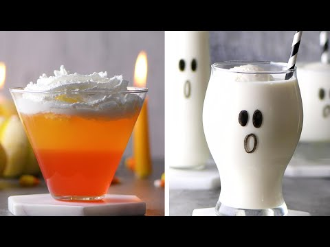 These Halloween Cocktails Look SO Cute and Yummy