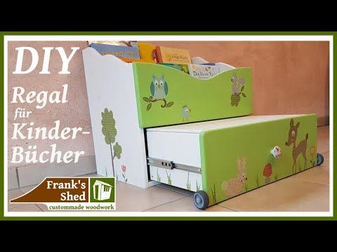 Regal selber bauen | Anleitung | kreative Deko Tipps | Kinderzimmer einrichten | 🔥 Franks Shed 🔥