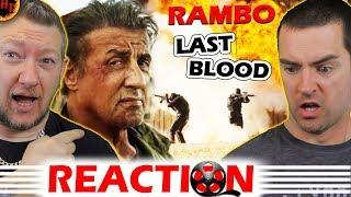 RAMBO: Last Blood Teaser Trailer REACTION