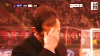 AC Milan vs FC Barcelona إعلان مباراة