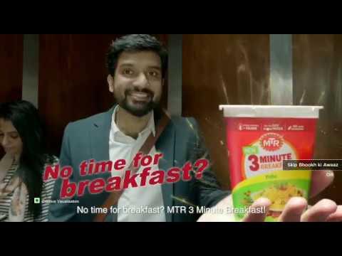mtr breakfast khaya kya?