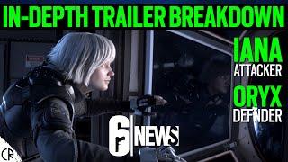 Oryx & Iana Trailer Void Edge - New Season - 6News - Void Edge - Rainbow Six Siege