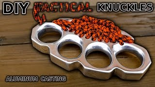 DIY Knuckles! Aluminum Casting - Video Youtube