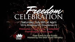 Freedom Celebration Announced