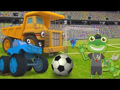 Big Truck Football Match | Gecko's Garage World Cup