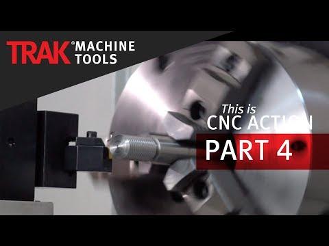 Lathe Turning & Threading | CNC Machining Action | Episode 4