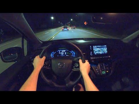 2021 Honda Odyssey - POV Night Drive (Binaural Audio)