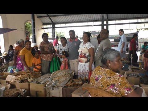 Negombo Sunday Market  Sri Lanka  July 2016