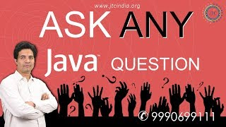 Ask Any Java Interview Question | Ask Your Java Doubts